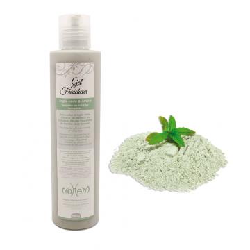 Gel fra cheur argile verte arnica noham cosm tiques naturels orientaux bio parfums - Argile verte coup de soleil ...